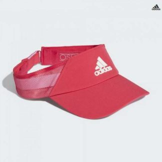 adidas-aeroready-visor-red